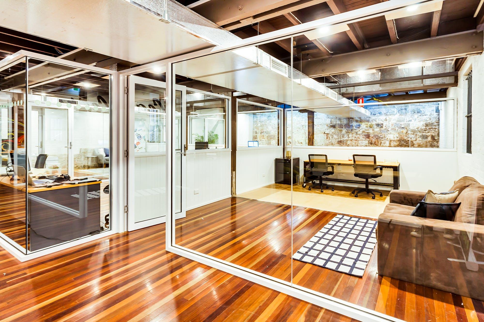 Hot desk at WOTSO WorkSpace Brisbane - Fortitude Valley, image 1