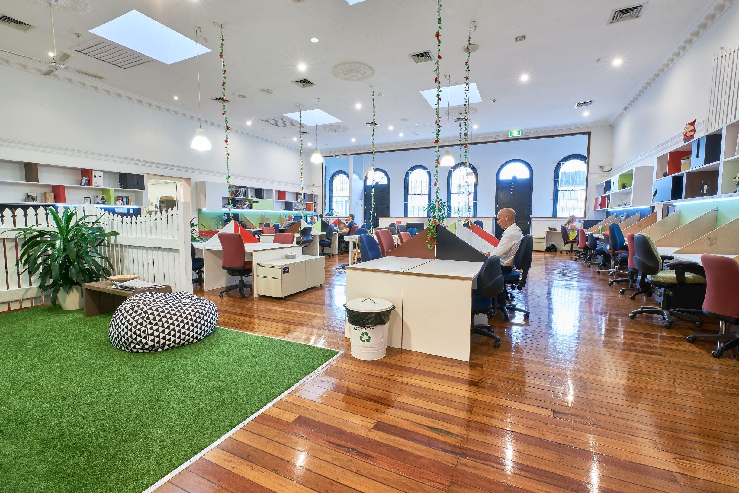 Dedicated desk at WOTSO WorkSpace Brisbane - Fortitude Valley, image 1