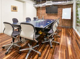 Ping Pong Boardroom, meeting room at WOTSO WorkSpace Brisbane - Fortitude Valley, image 1
