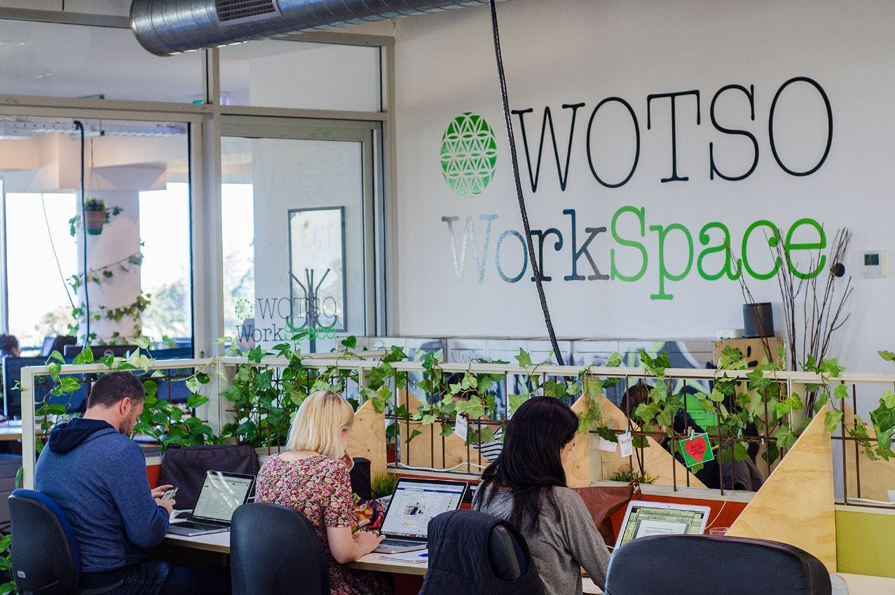 Dedicated desk at WOTSO WorkSpace Neutral Bay, image 1