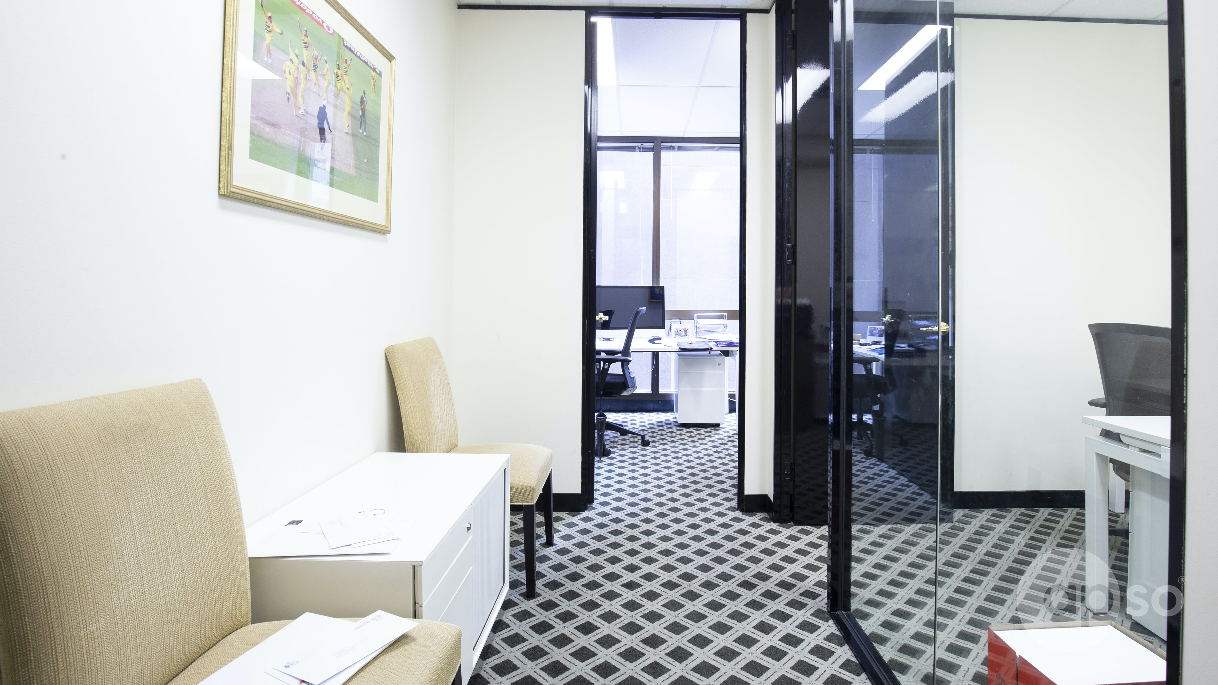 Suite 607, private office at Exchange Tower, image 2