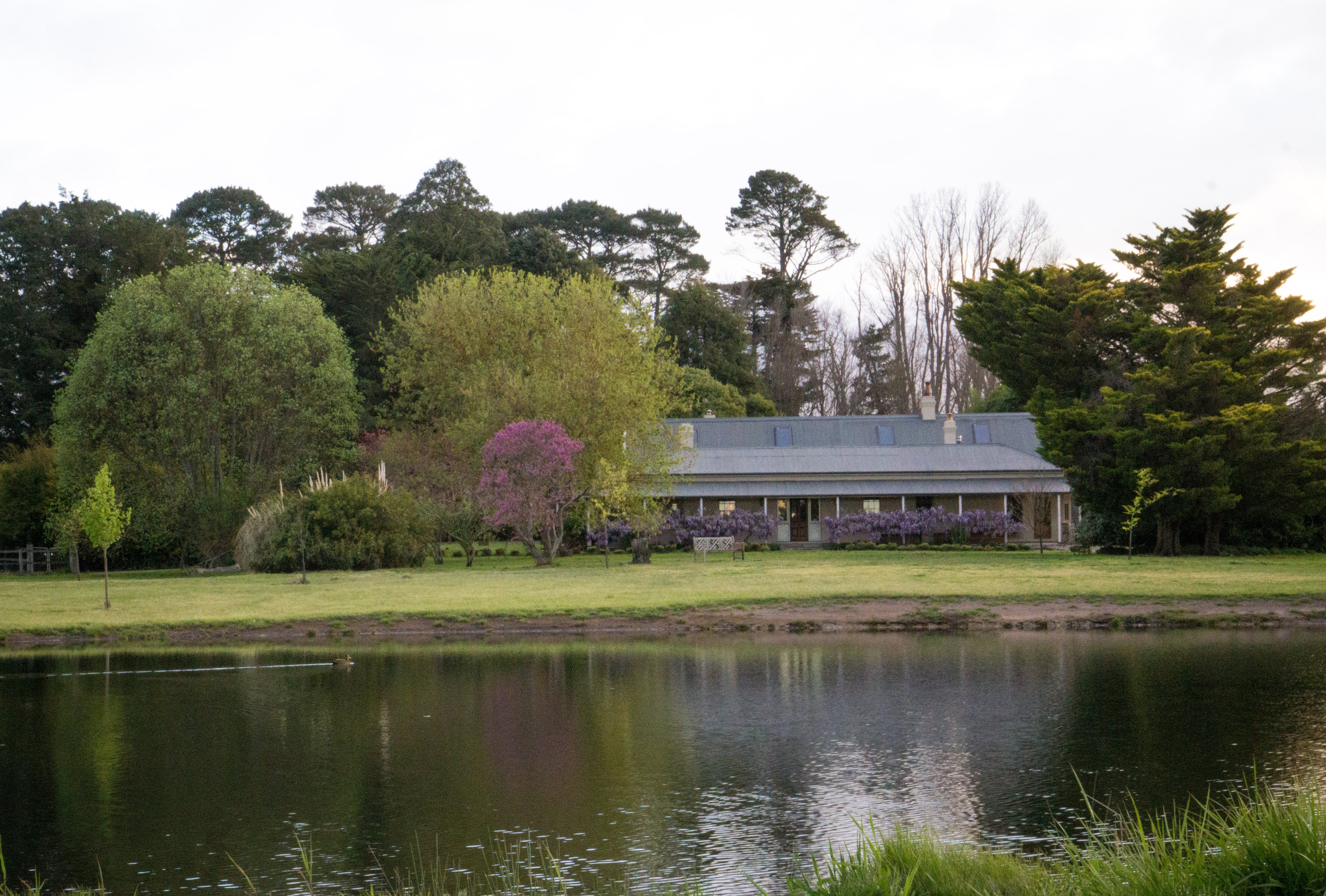 The Farmhouse and garden, multi-use area at Mill Pond Farm, image 4