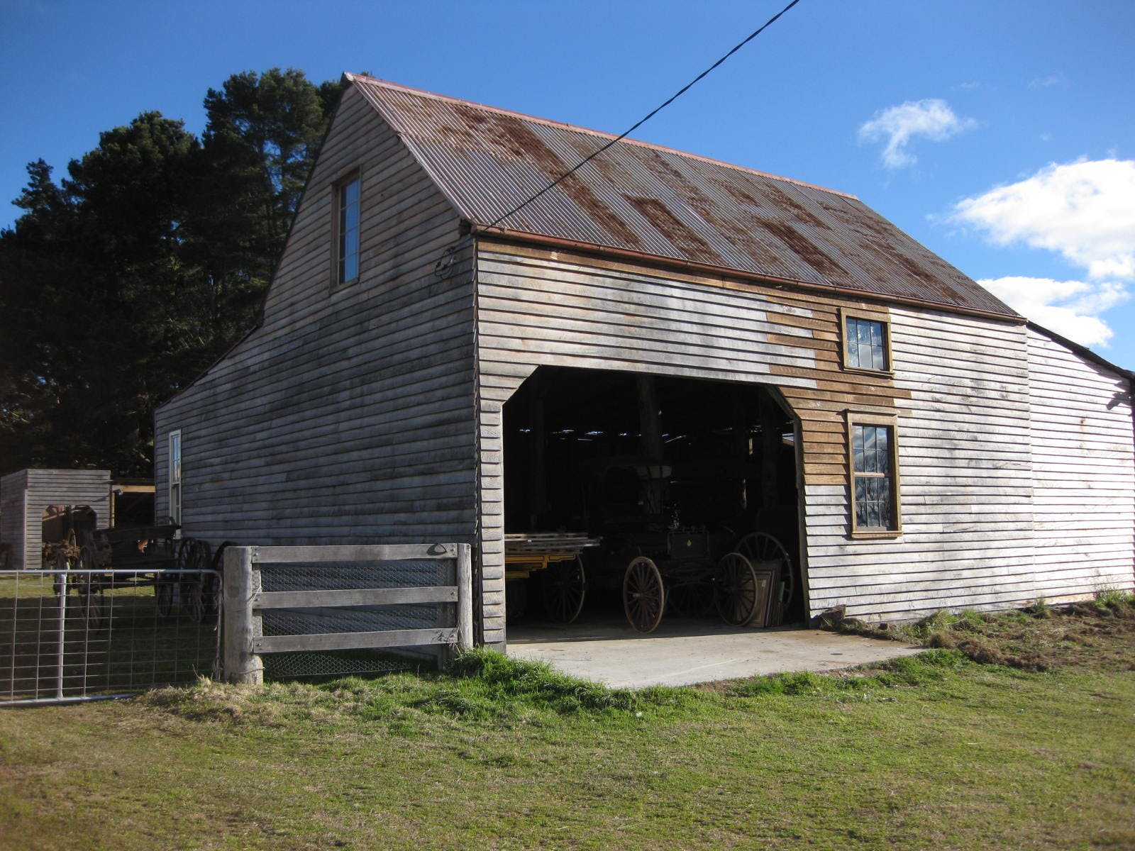 The Wagon Barn, multi-use area at Mill Pond Farm, image 9