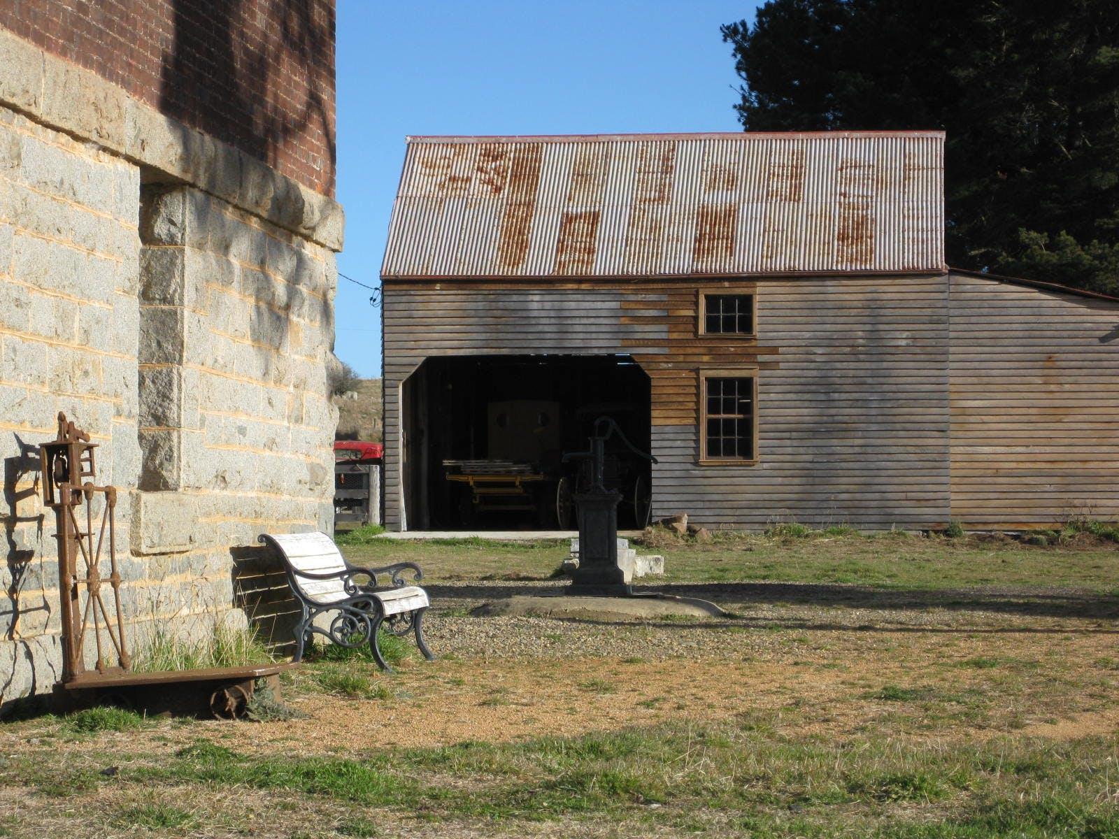 The Wagon Barn, multi-use area at Mill Pond Farm, image 2