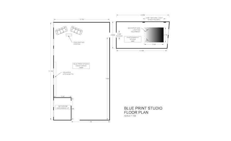Photography Studio - The White room, creative studio at Studio Blueprint Photography Studio, image 8