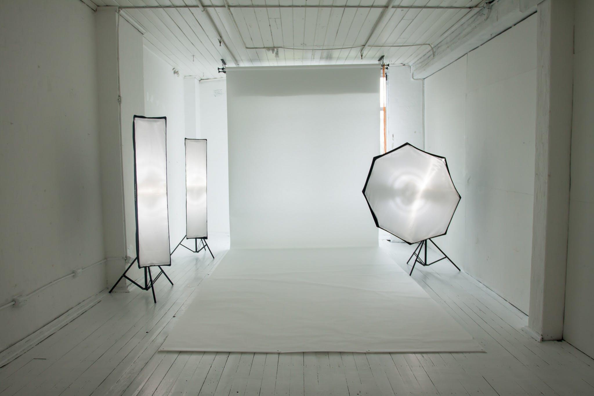 Photography Studio - The White room, creative studio at Studio Blueprint Photography Studio, image 1