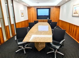 12 Person Boardroom, meeting room at AMP Tower, image 1