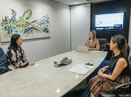 Casual 4 person, meeting room at Servcorp Southbank Riverside, image 1