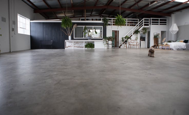 This blank canvas warehouse space in Moorabbin is ideal for photography, image 1