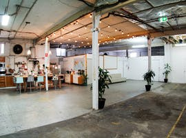 Blank canvas warehouse studio space in Redfern, image 1