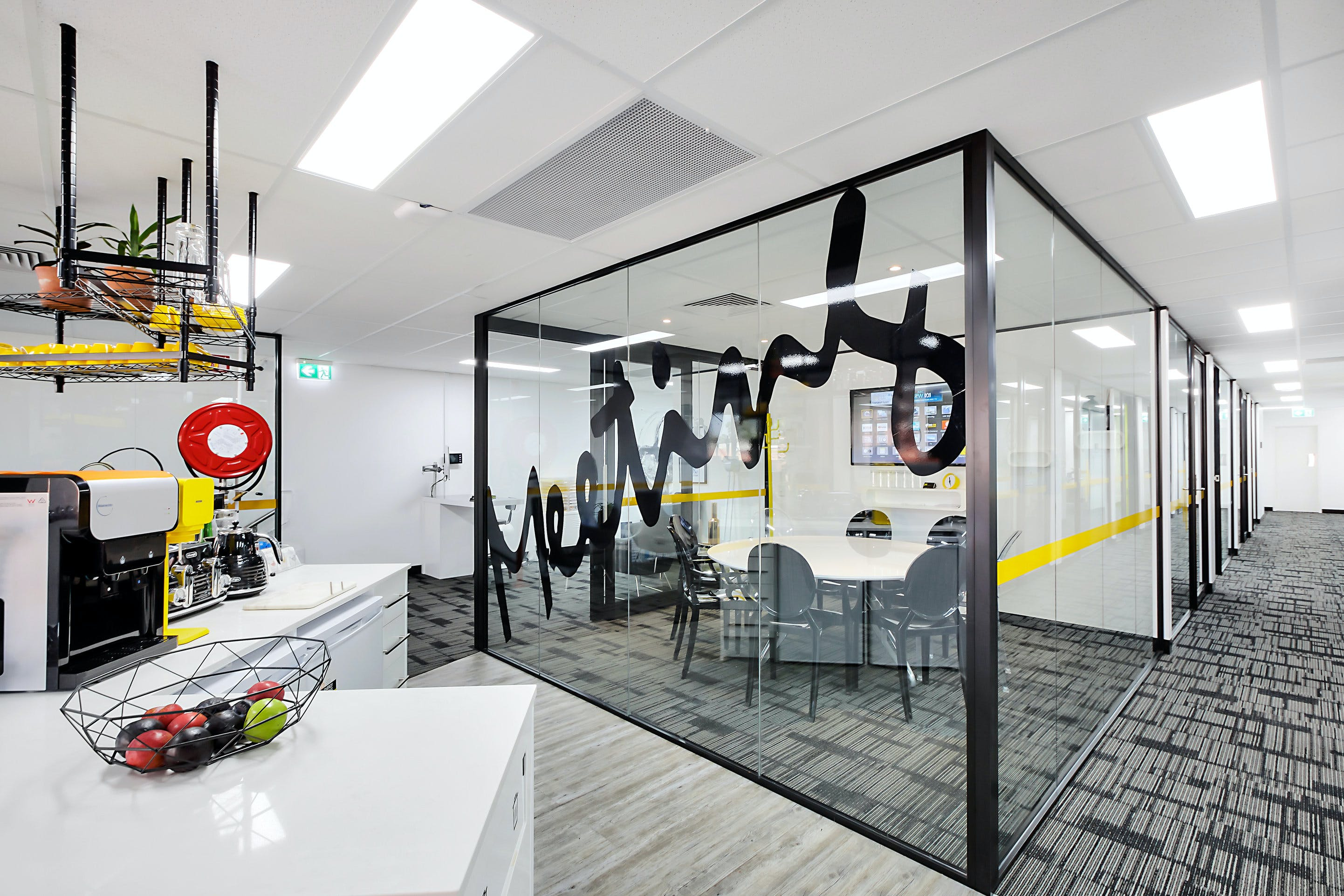 Boardroom, function room at Anytime Offices Botany, image 1