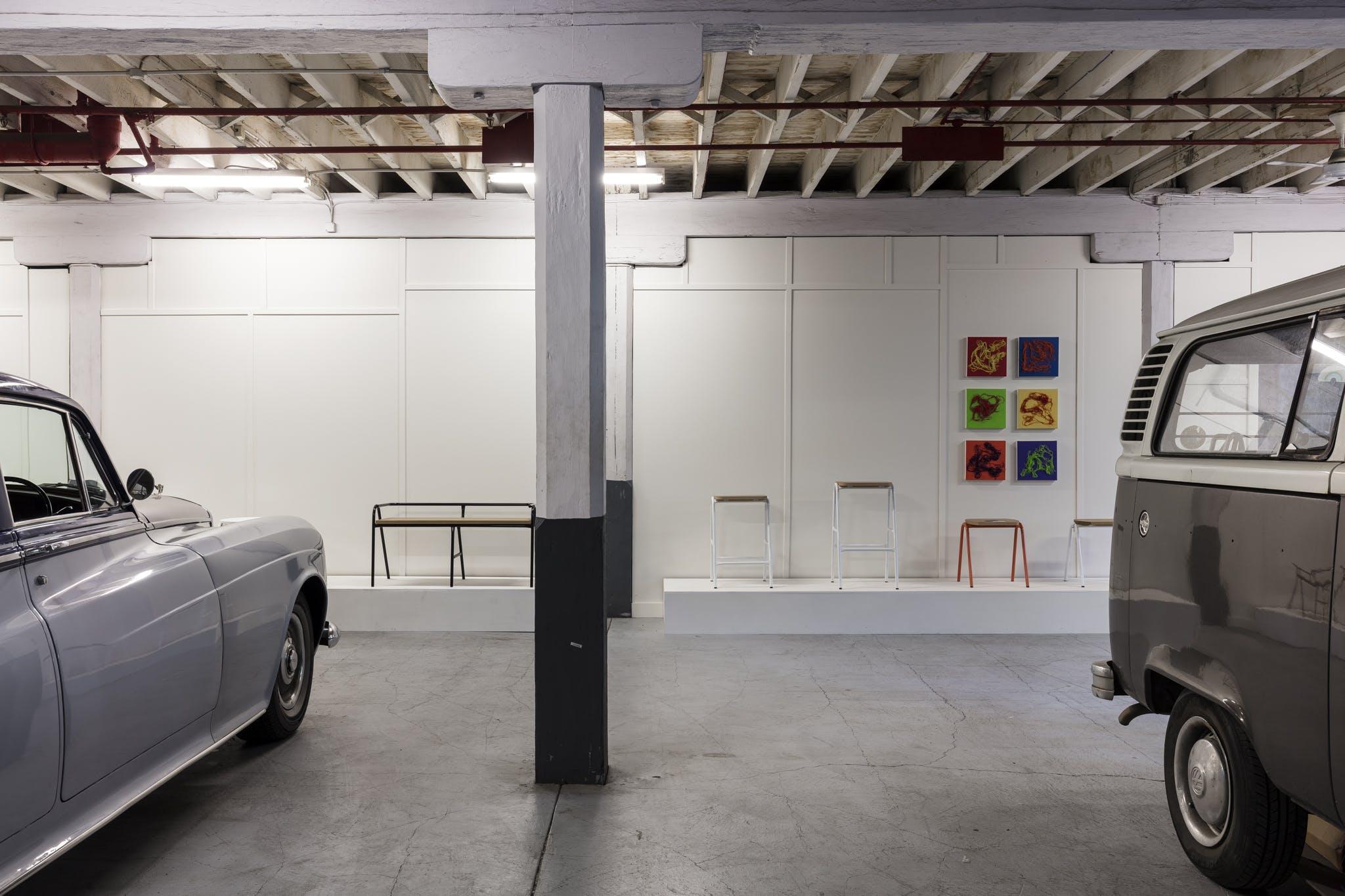 Catapult Design Showroom, multi-use area at Wattle Street Woolstores, image 10