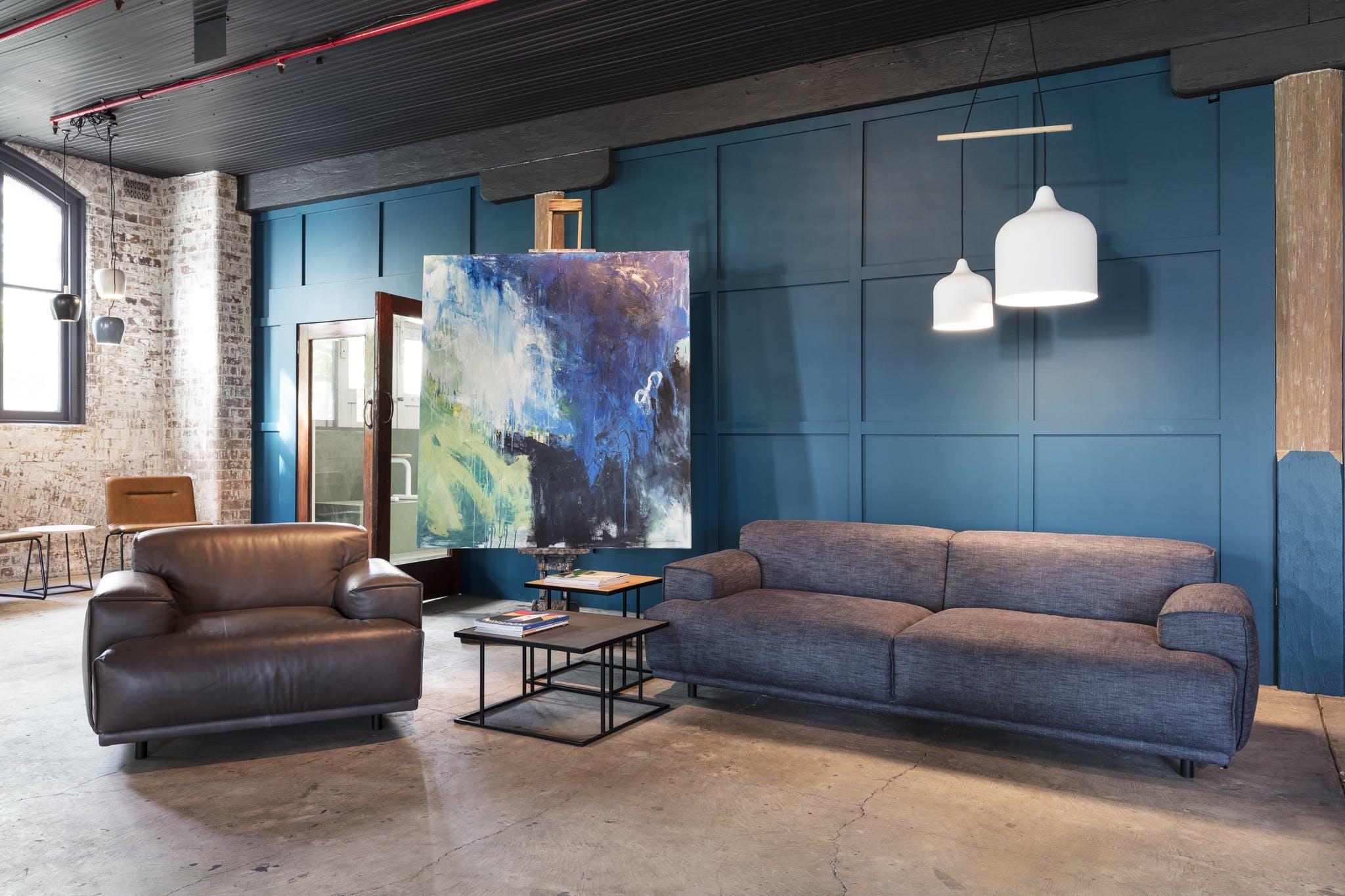 Catapult Design Showroom, multi-use area at Wattle Street Woolstores, image 7