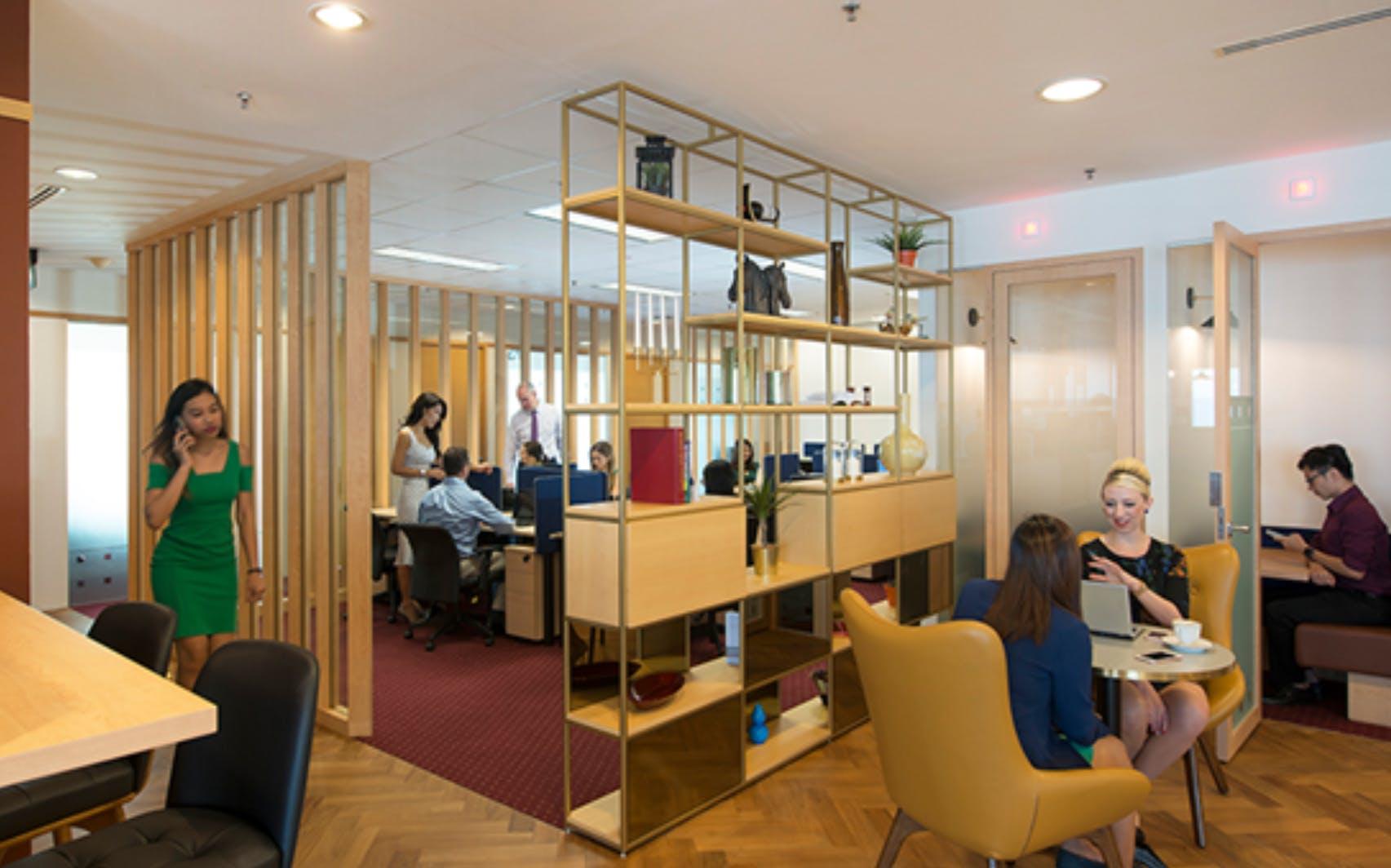 Casual meeting room, meeting room at Riparian Plaza, image 1