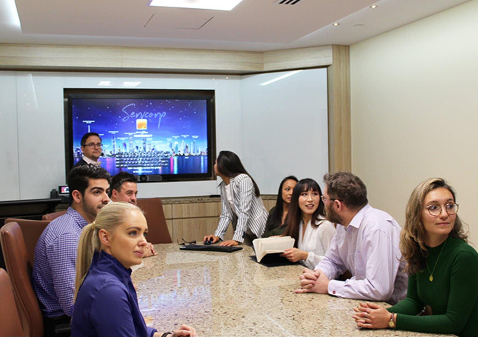 Day suite 2, meeting room at Westpac House, image 1