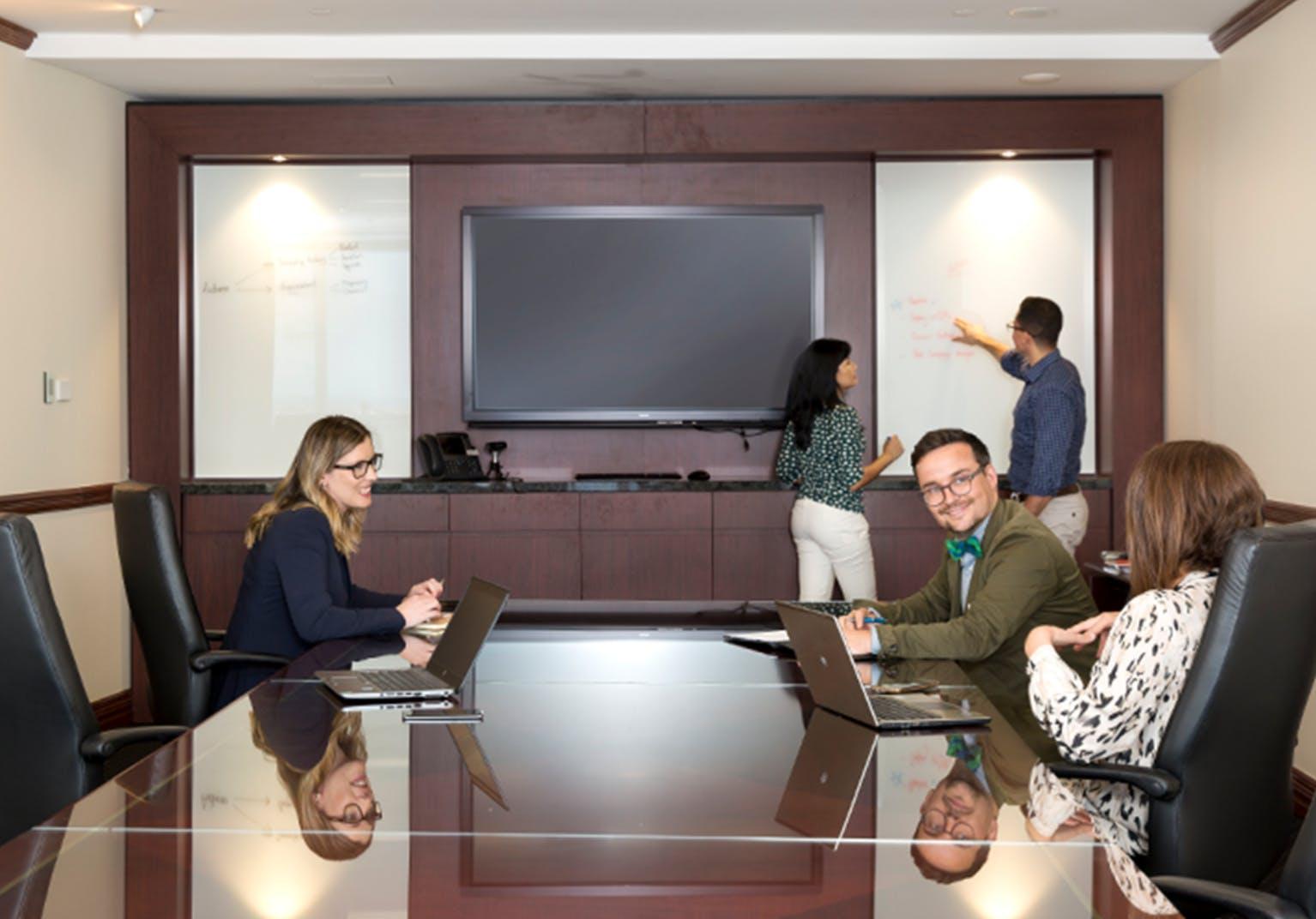 Meeting room at Westpac House, image 1