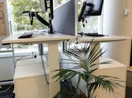 Standing Desks - Permanant, dedicated desk at 2 Elizabeth Plaza, image 1