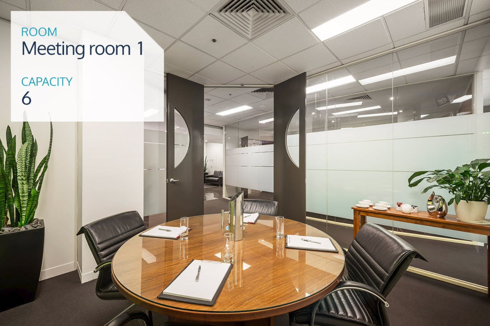 4 Person Meeting Room, meeting room at Melbourne Business Centre, image 1