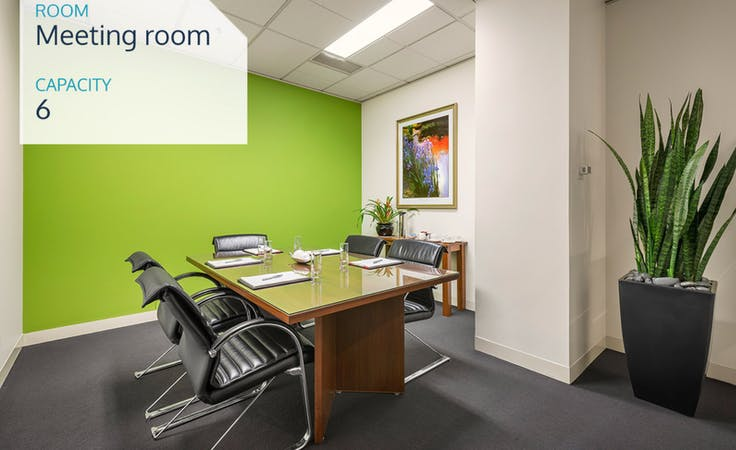 6 Person Meeting Room, meeting room at Melbourne Business Centre, image 1