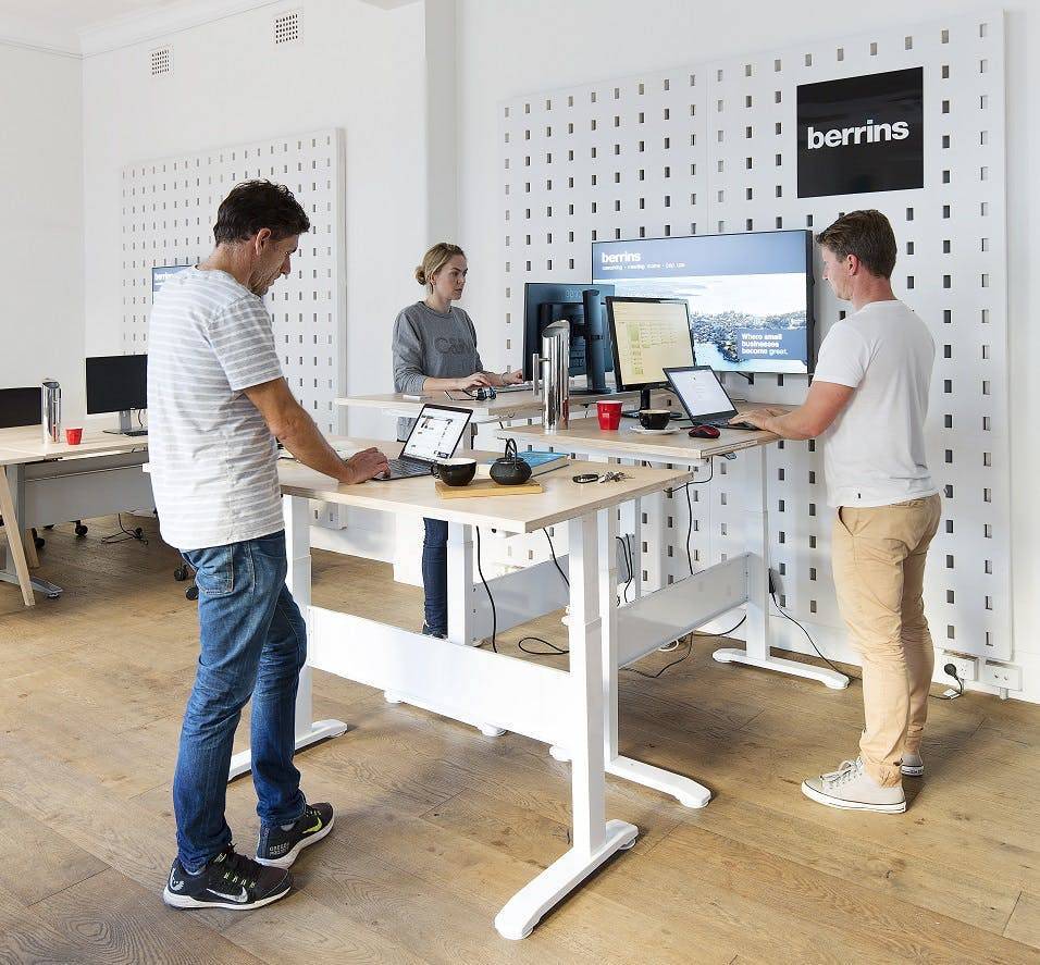 Hot desk at Berrins, image 1