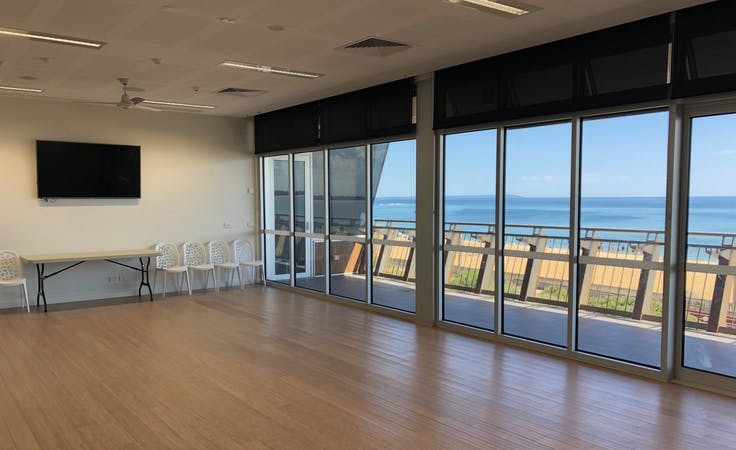 The Long Room, multi-use area at Mordialloc Life Saving Club, image 1