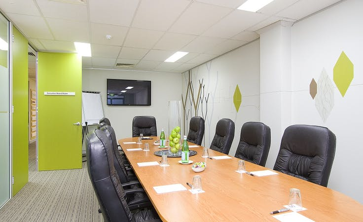 Executive Boardroom, meeting room at Diamond Offices, image 1