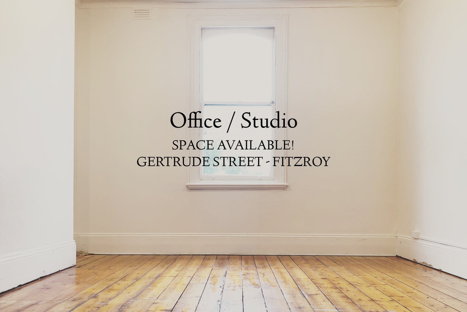 Studio or Office, private office at GERTRUDE STREET STUDIO OFFICE, image 1