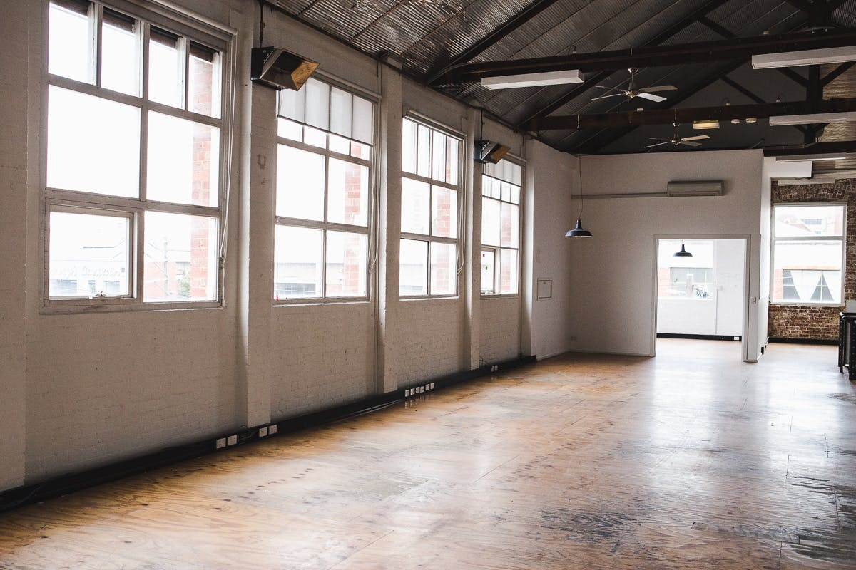 Easey Street Warehouse, multi-use area at Beautiful Warehouse for Event Hire, image 1