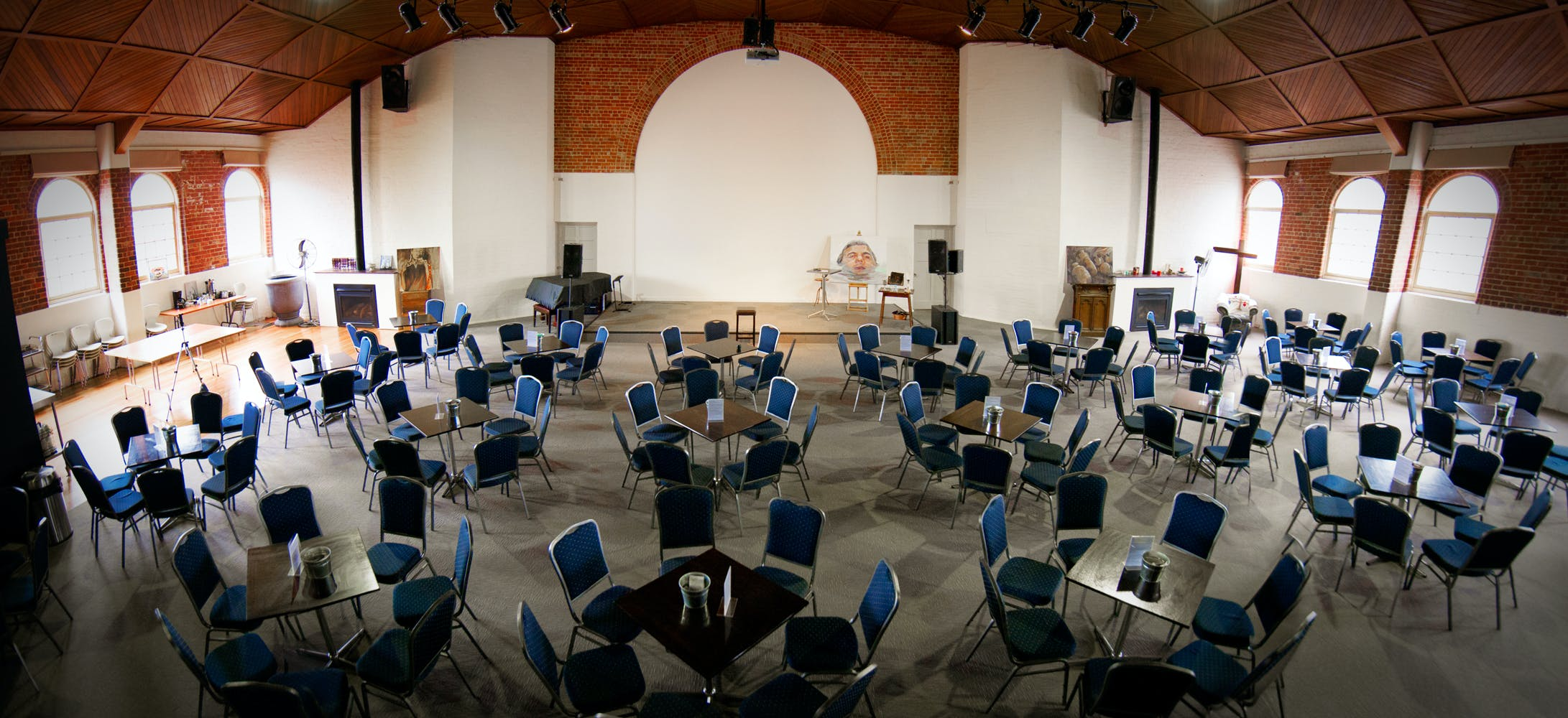 Large function space adaptable to suit a range of events, image 1
