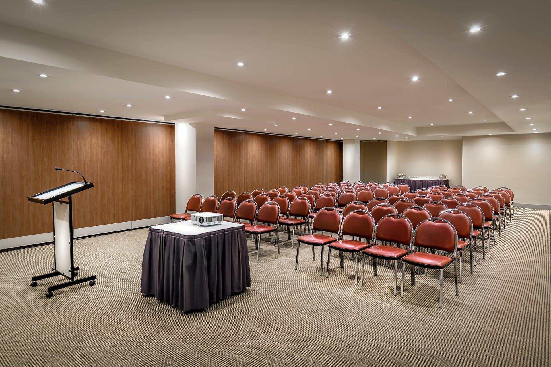 Robert Burke Room, meeting room at Batman's Hill on Collins, image 1
