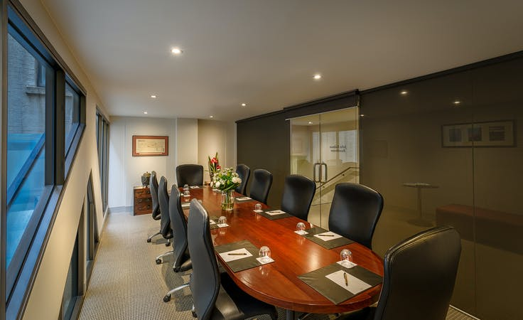John Batman's Boardroom, meeting room at Batman's Hill on Collins, image 1