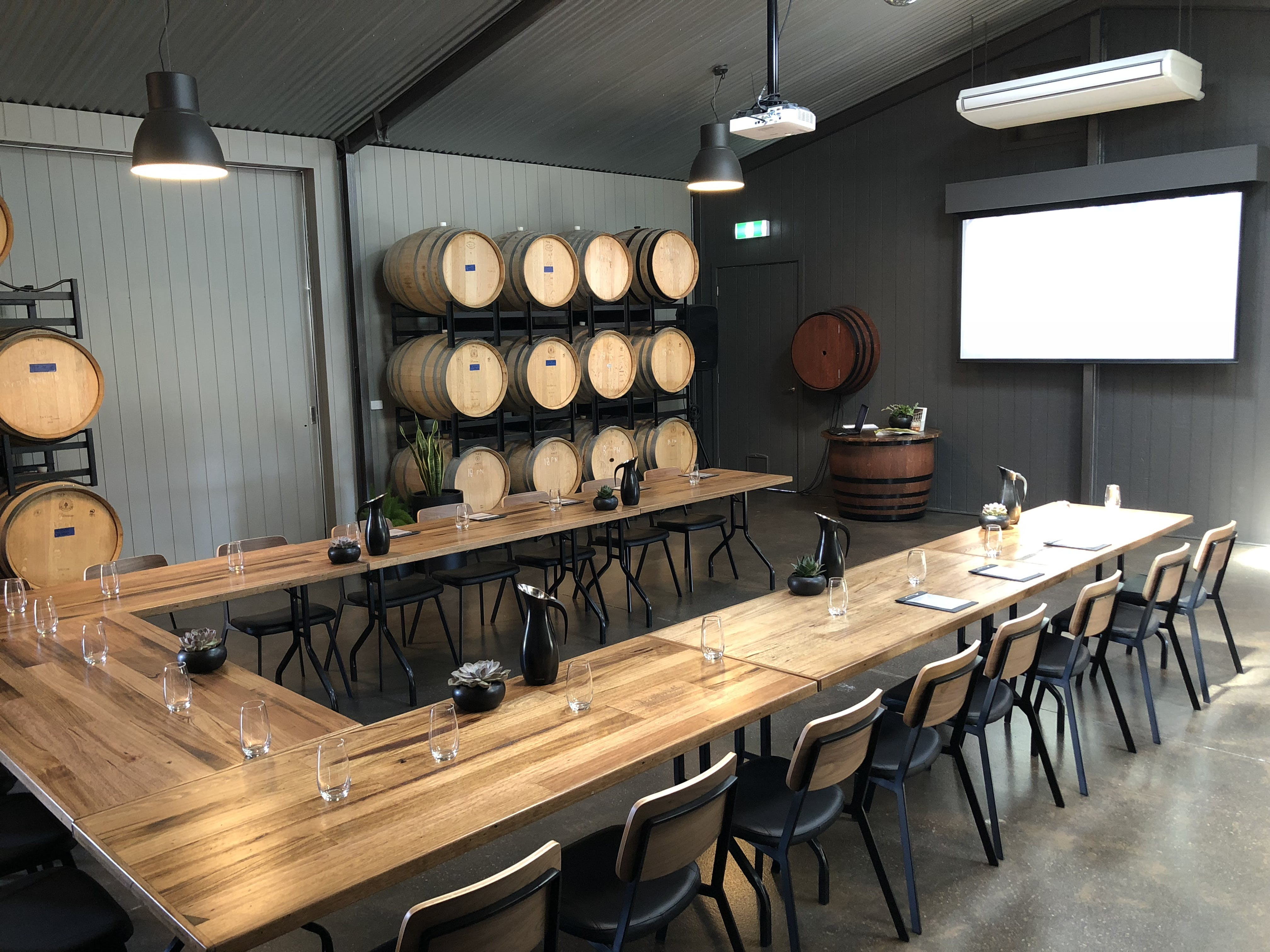 The Barrel Room, multi-use area at Stumpy Gully Barrel Room, image 1