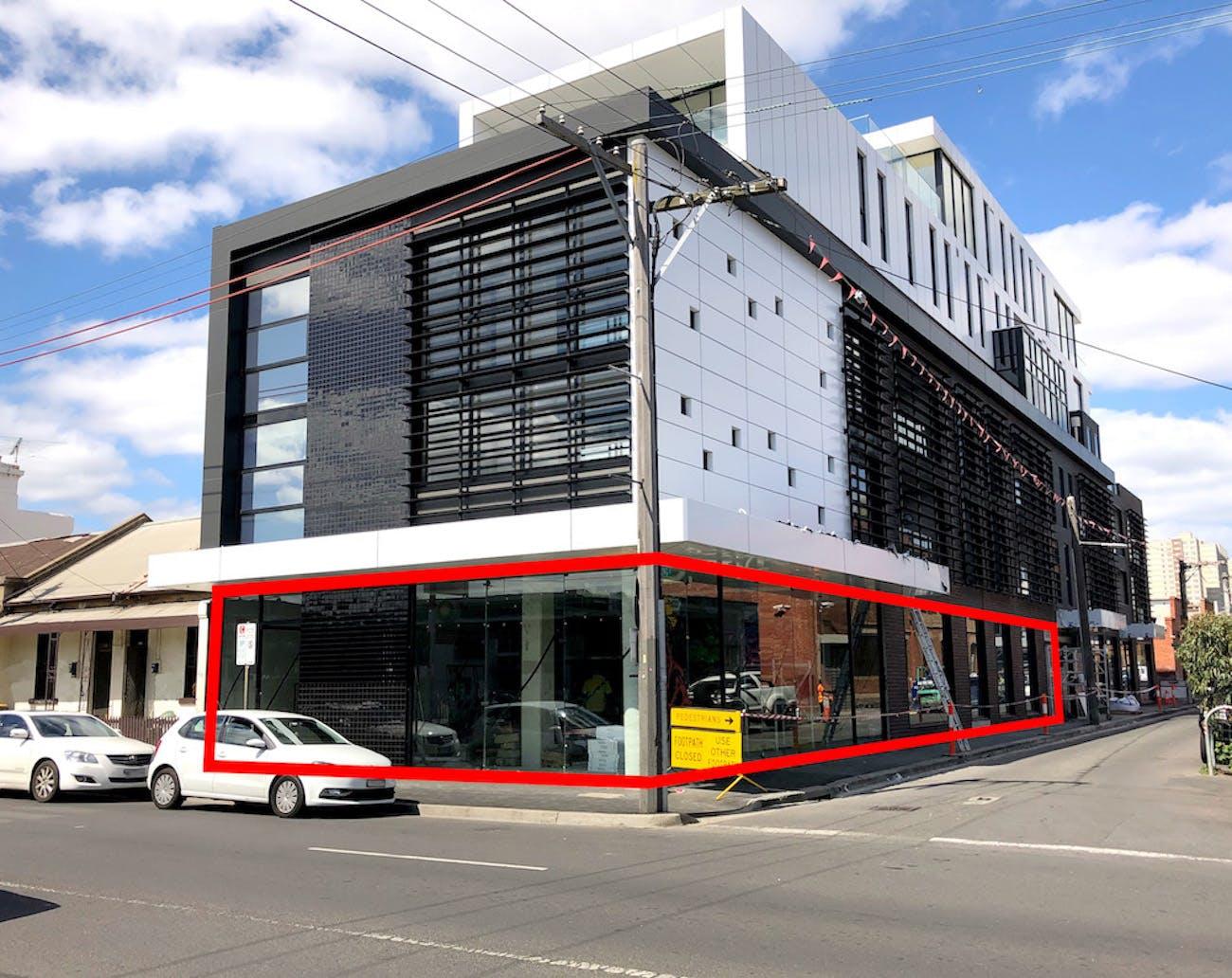 Johnston St, pop-up shop at Pop up Shop / Warehouse SPACE - Fitzroy, HUGE STREET FRONTAGE, image 1