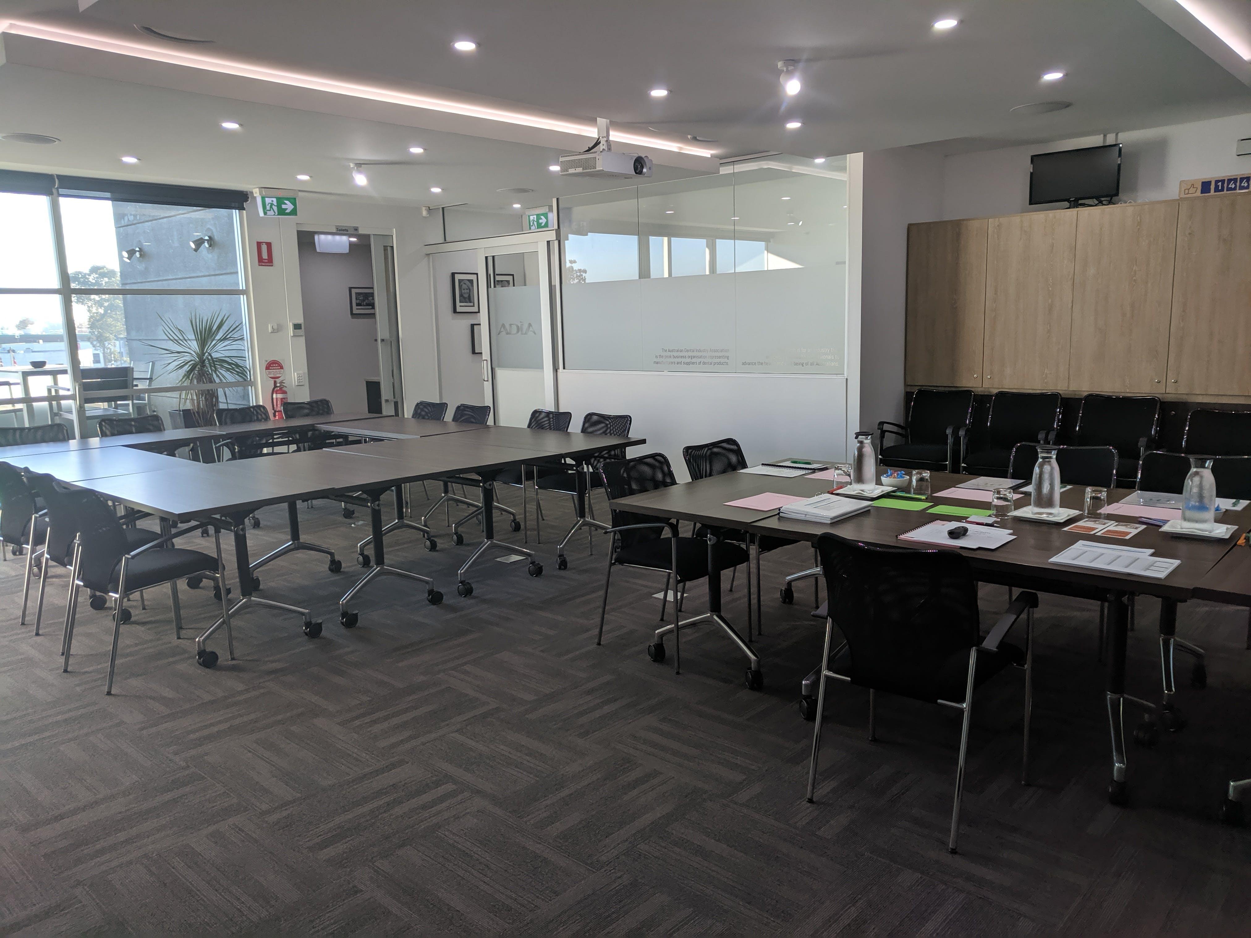 Training room at ADIA, image 1