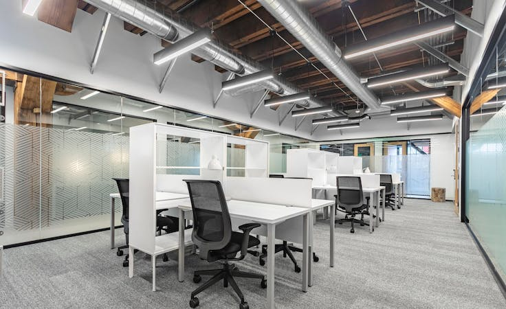 Beautifully designed open plan office space for 10 persons in Spaces The Wentworth, serviced office at Spaces Perth, The Wentworth, image 1