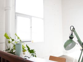 Industrial light filled office for 1-2 people next to North Melbourne Station, private office at Glow Studios, image 1