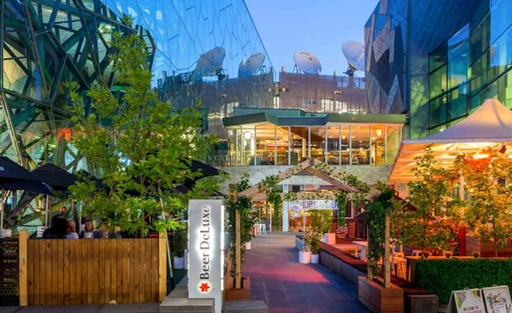 Beer Garden, function room at Beer Deluxe Federation Square, image 1