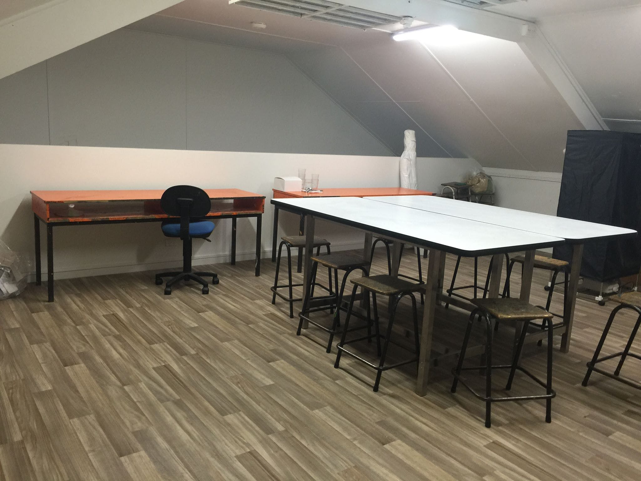 Mezzanine Open Plan Studio, multi-use area at Far Fetched Designs, image 1