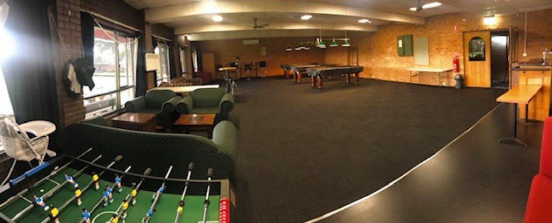 Roy Gerbing Room, function room at Flemington & Kensington Bowling Club, image 1