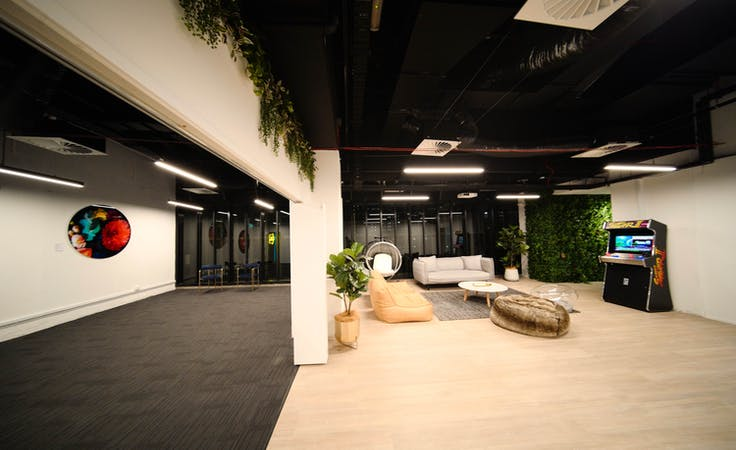 Looking for a cool entertainment space to host your next presentation?, image 4