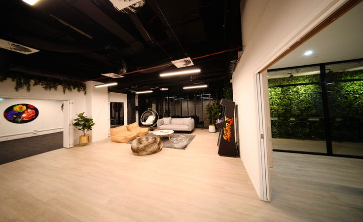 Looking for a cool entertainment space to host your next presentation?, image 1