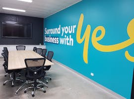 Yes Business Boardroom, meeting room at Optus Business Centre Shepparton, image 1