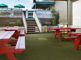 Lower Beer Garden, function room at The Hawthorn Hotel, image 1