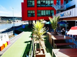Garden Decks, function room at The Wharf Hotel, image 1