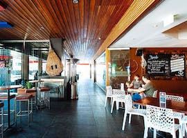 Covered Promenade, function room at The Wharf Hotel, image 1
