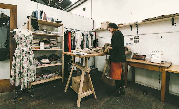 $109/Week Private Artist & Craftspeople Studio Space in Sustainably Made Collaborative Warehouse Work Space near Newtown, creative studio at Nauti Studios Stanmore, image 1