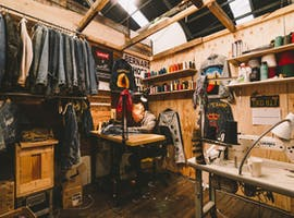 $89/week Artist & Craftsperson Lockable Studio in Collaborative CoWorking Warehouse Work Space near Katoomba, Blue Mountains, creative studio at Nauti Studios Blue Mountains CoWorking, image 1
