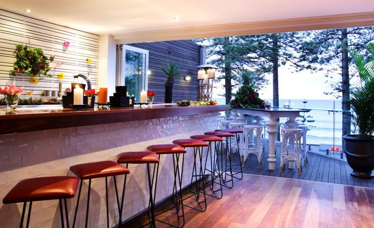 Beach Bar, function room at Manly Wine Beach Suites, image 1