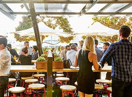 Courtyard, function room at Beer Deluxe Kings St Wharf, image 1