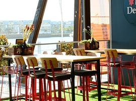 Whole Venue, function room at Beer Deluxe Kings St Wharf, image 1